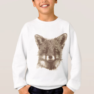 Fox sketch sweatshirt