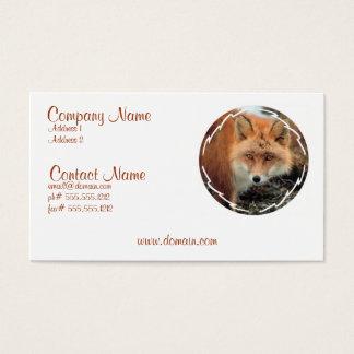 Fox Species Business Card
