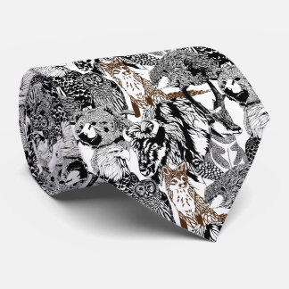 Fox Stand-out Tie