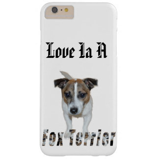 Fox Terrier And Fox Terrier Logo, Barely There iPhone 6 Plus Case