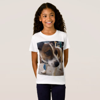 Fox Terrier, Attraction, Girls White T-shirt