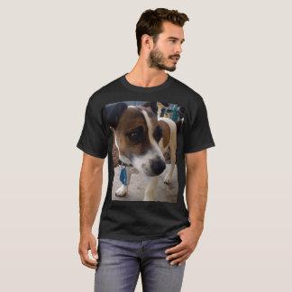Fox Terrier, Attraction Mens Black T-shirt