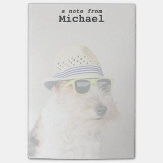Fox Terrier Post-it Notes