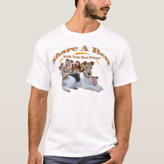 Fox Terrier Share A Beer T-Shirt