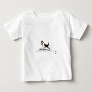 Fox Terrier standing proud Baby T-Shirt