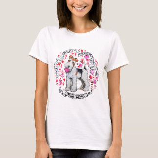 Fox Terrier Sweetheart T-Shirt