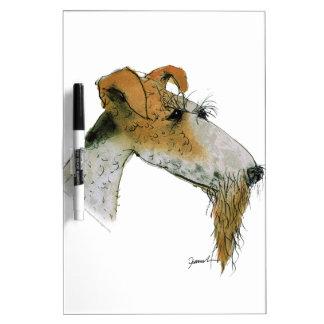 Fox Terrier, tony fernandes Dry Erase Board