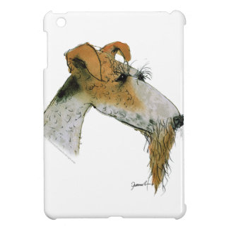 Fox Terrier, tony fernandes iPad Mini Covers