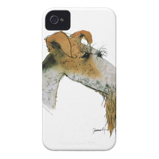 Fox Terrier, tony fernandes iPhone 4 Cover