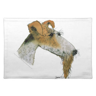 Fox Terrier, tony fernandes Placemat