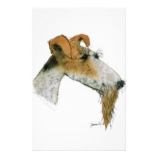 Fox Terrier, tony fernandes Stationery