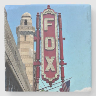 Fox Theatre, Atlanta, Georgia, Coasters,Landmark, Stone Beverage Coaster