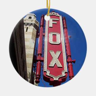 Fox Theatre, Atlanta,Georgia,Merry Christmas Y'all Christmas Ornament