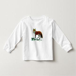 Fox Toddler Long Sleeve Shirt