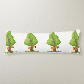Fox tree body cushion