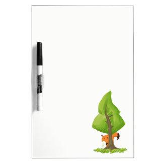 Fox Tree Dry-Erase Whiteboard