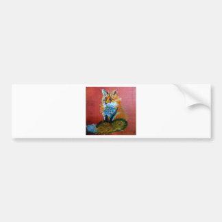 Fox Trot Bumper Sticker