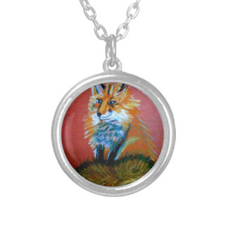 Fox Trot Silver Plated Necklace