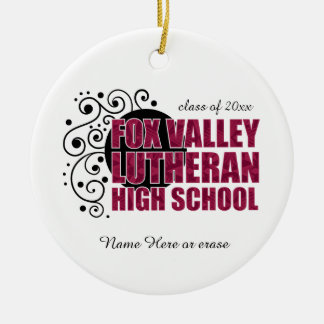 Fox Valley Lutheran High School Christmas Ornament