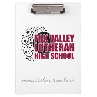 Fox Valley Lutheran High School Clipboards