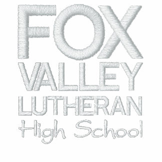 Fox Valley Lutheran High School Embroidered Hooded Sweatshirt