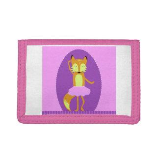"""""""fox wallet for kids, """"lady fox wallet"""""""