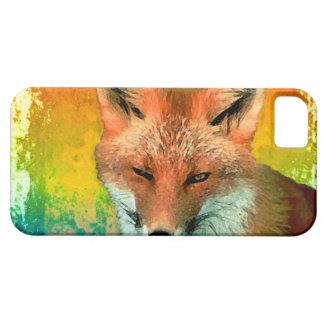 Fox Watercolor iPhone 5 Case