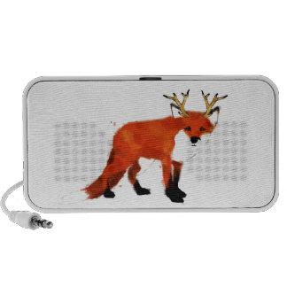 Fox Watercolour iPhone Speaker