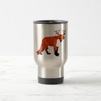 Fox Watercolour Travel Mug