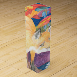 fox wine box
