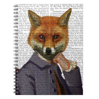 Fox With Flute 2 Notebook