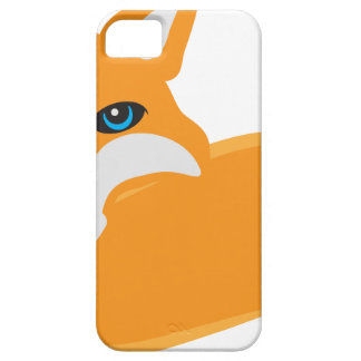 Fox with Tail Illustration iPhone 5 Case