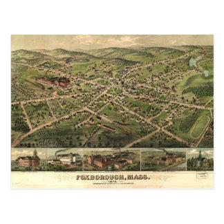 Foxborough, Massachusetts (1879) Postcard