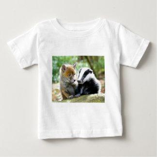 Foxcub & Badger Cute! Baby T-Shirt