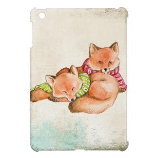 Foxes Case For The iPad Mini
