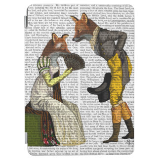 Foxes Courting iPad Air Cover