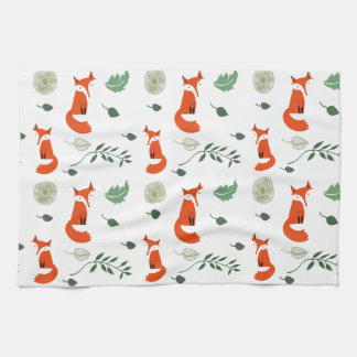 Foxes Hand Towel