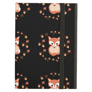 Foxes in autumn iPad air covers