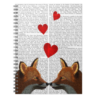 Foxes in Love Notebooks