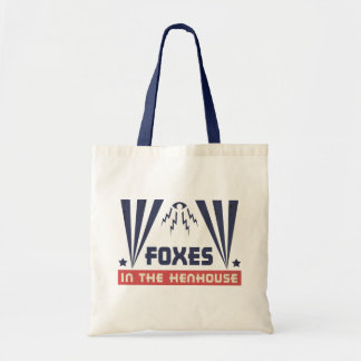 Foxes in the Henhouse Tote Bag