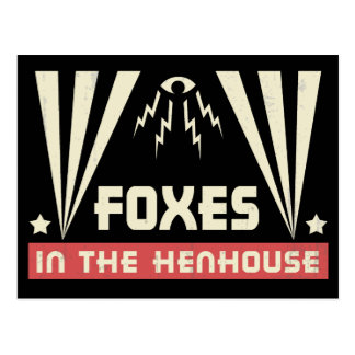 Foxes in the Henhouse Postcards