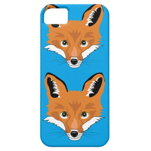 Foxes Iphone 5 Case