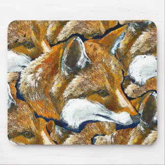 FOXES MOUSE MAT