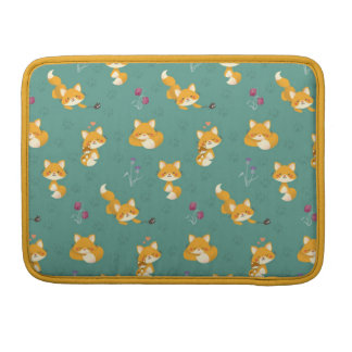 Foxes Sleeve For MacBook Pro