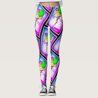 Foxey Moxey Curvy Girl Leggings
