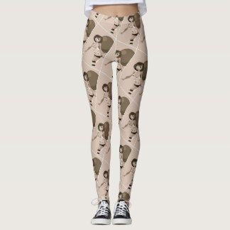 Foxey Moxey Curvy Girl Logo Leggings