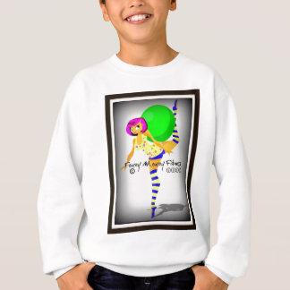 foxey moxey fitness logo revamp sweatshirt