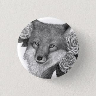 Foxflower 3 Cm Round Badge