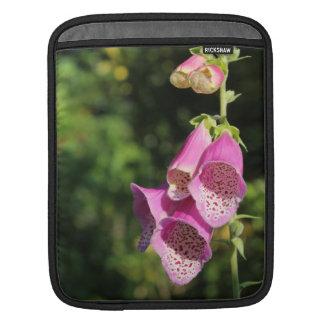 Foxglove Flowers. iPad Sleeve