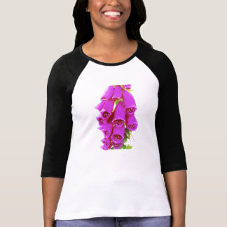 Foxglove in Pink Art T-Shirt